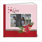 6 x 6 Love is in the Air - 6x6 Photo Book (20 pages)