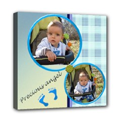 Precious angel Boy - streched canvas 8x8 - Mini Canvas 8  x 8  (Stretched)