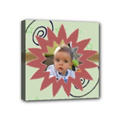My little star  4x4 streched canvas - Mini Canvas 4  x 4  (Stretched)