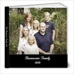 The Rasmussen Family Scrapbook 2010 - 8x8 Photo Book (39 pages)
