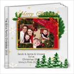 Sylva Family Christmas Christmas Pictures - 8x8 Photo Book (20 pages)