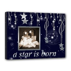 A Star is Born 16 x 12 stretched canvas - Canvas 16  x 12  (Stretched)