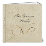 The Durand Family - 8x8 Photo Book (30 pages)