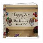 80th - 6x6 Photo Book (20 pages)