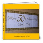 50th Party - 8x8 Photo Book (39 pages)