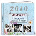 2010 Memories 12x12 Photo Book (30 pages)