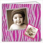 Funky Fur Baby 12 x 12 Album - 12x12 Photo Book (20 pages)