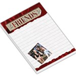 Friends Red Large Memo Pad - Large Memo Pads