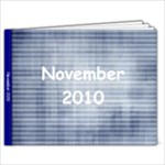 nov 10 - 9x7 Photo Book (20 pages)