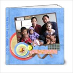 pg fam - 6x6 Photo Book (20 pages)