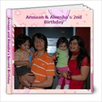 Armaan and Aleesha s Second Birthday - 8x8 Photo Book (20 pages)