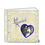 Just Married 4 x 4 Wedding Album - 4x4 Deluxe Photo Book (20 pages)