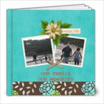 8X8 Our Family Our Memories - 8x8 Photo Book (20 pages)