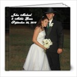John Michael & Mikki Wedding Album - 8x8 Photo Book (39 pages)