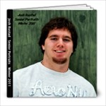 Josh Rustad 8x8 Senior Photo Book - 8x8 Photo Book (20 pages)