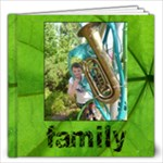 Family Simple Sentiments Classic 12 x 12 album - 12x12 Photo Book (20 pages)