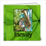 Family Simple Sentiments Classic 6 x 6 album - 6x6 Photo Book (20 pages)