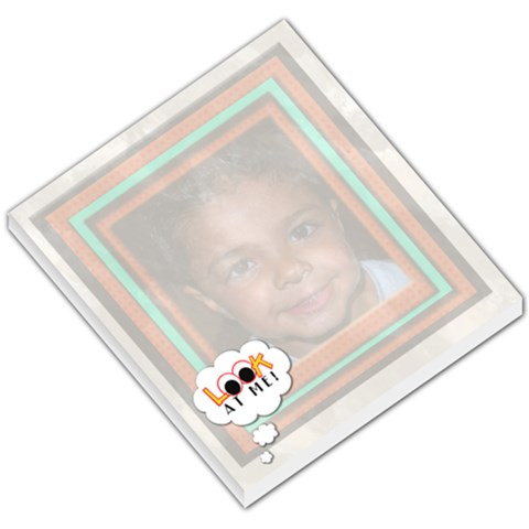 Look At Me Notepad By Danielle Christiansen   Small Memo Pads   Labbgs48ncym   Www Artscow Com