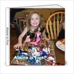Alaina is Five - 6x6 Photo Book (20 pages)