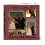 Wedding Ceremony - 6x6 Photo Book (20 pages)