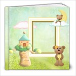 Beary Love 8x8 Photo Book - 8x8 Photo Book (20 pages)