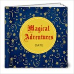 8X8 -Magical Adventures - 8x8 Photo Book (20 pages)