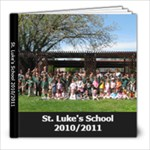 2010/2011 yearbook - 8x8 Photo Book (30 pages)