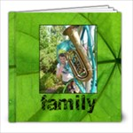 Family Simple Sentiments Classic 8 x 8 album 30 pages - 8x8 Photo Book (30 pages)