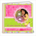 8x8 birthday girl 30 pages - 8x8 Photo Book (30 pages)