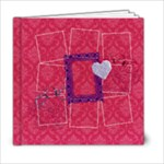 6x6 Love Ya Big Album - 6x6 Photo Book (20 pages)