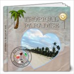 Tropical Paradise Vacation 12x12 Photo Book (30 Pages)