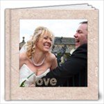 Classic Marble 12 x 12 80 page wedding album - 12x12 Photo Book (80 pages)