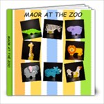 maor at the zoo - 8x8 Photo Book (30 pages)