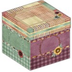 Quilted Storage Stool 1 - Storage Stool 12