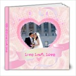 Live Laugh Love Journey - 8x8 Photo Book (20 pages)