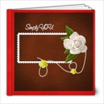8x8 20 pgs color me happy / simply you - 8x8 Photo Book (20 pages)