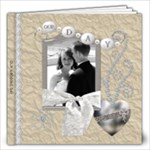 Our Wedding Day 12x12 photo book (30 pages)