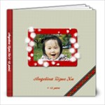Angelina 1-1.5 Years - 8x8 Photo Book (30 pages)