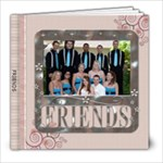 Friends 8x8 Photo Book (30 Pages)
