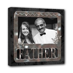 Father 8x8 Stretched Canvas - Mini Canvas 8  x 8  (Stretched)
