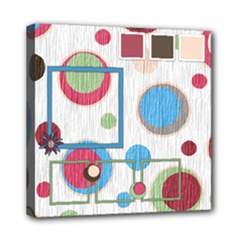 Bloop Bleep 8x8 Canvas - Mini Canvas 8  x 8  (Stretched)
