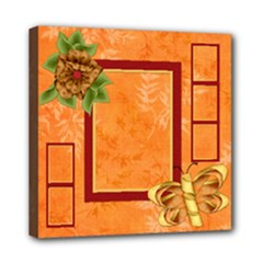 Tangerine Breeze 8x8 Canvas 1 - Mini Canvas 8  x 8  (Stretched)