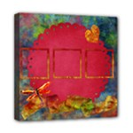 Tye Dyed 8x8 Canvas 1 - Mini Canvas 8  x 8  (Stretched)