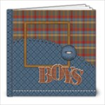 The Boys of Fall 8x8a - 8x8 Photo Book (20 pages)