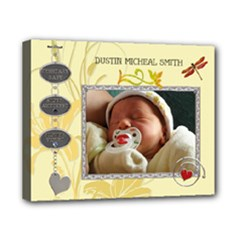 February Baby 10x8 Stretched Canvas - Canvas 10  x 8  (Stretched)