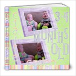 Caden & Claire 3-4 months old - 8x8 Photo Book (20 pages)