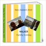 Matts NZ holiday - 8x8 Photo Book (20 pages)