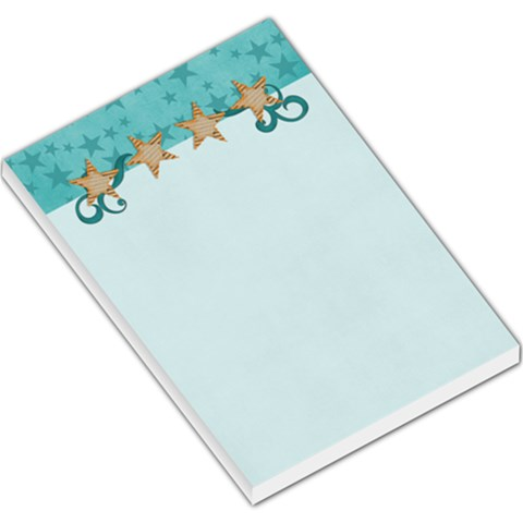 Large Memo Pads   Stars By Jennyl   Large Memo Pads   Q6h3x6t4hwmg   Www Artscow Com
