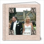 Classic Marble 8 x 8 20 page wedding album 2 - 8x8 Photo Book (20 pages)