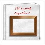 Cookbook - 6x6 Photo Book (20 pages)